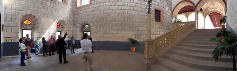 Genial panorámica de mi amigo Andrea en la escalera de Sant-Iacob